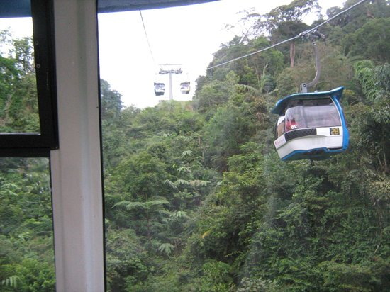 Awana Hotel:                   View from Rope way Trolley