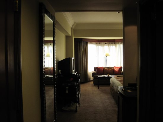 Diamond Hotel Philippines:                                     The entrance for Superior room king bed