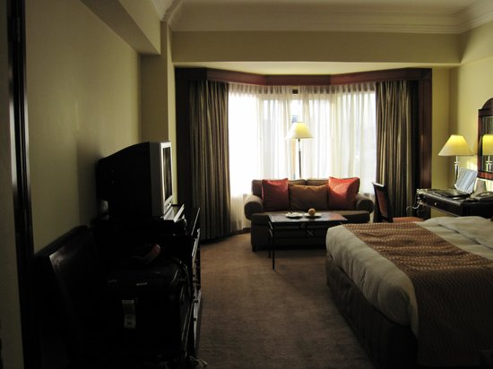 Diamond Hotel Philippines:                                     Superior room king bed