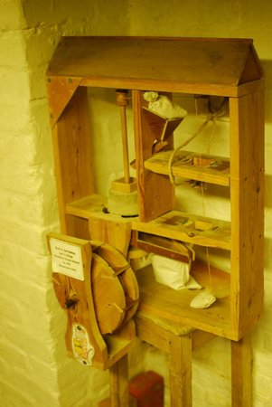 Eling Tide Mill: Model of the Mill