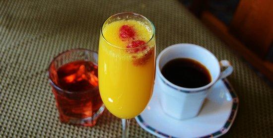 The Kirk House Bed & Breakfast:                   Wonderful breakfast served in the morning