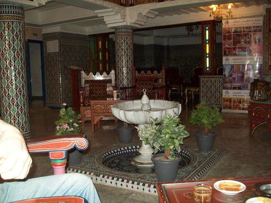 Moroccan House Hotel:                   front lobby