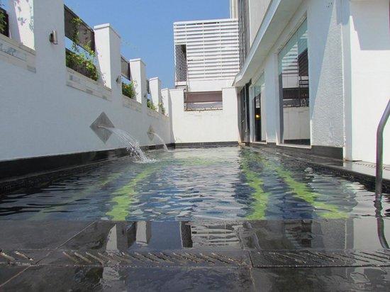 L'Hotel Eden:                   Small but cosy swimming pool