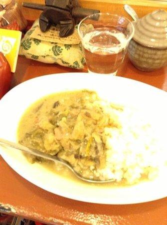 Semakute :                   Thai Green Curry
