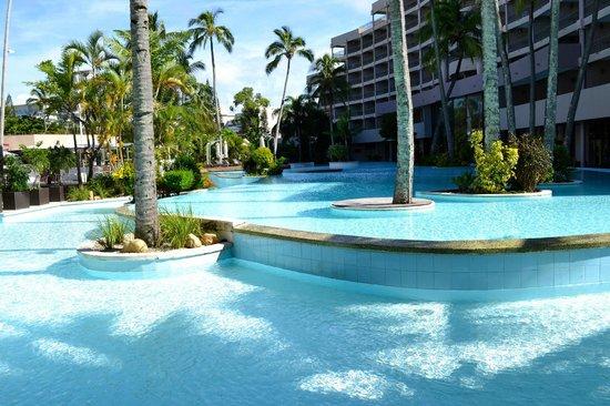 Nouvata: Wonderful pool at Le Parc complex