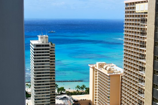 Waikiki Banyan:                   view from the suite