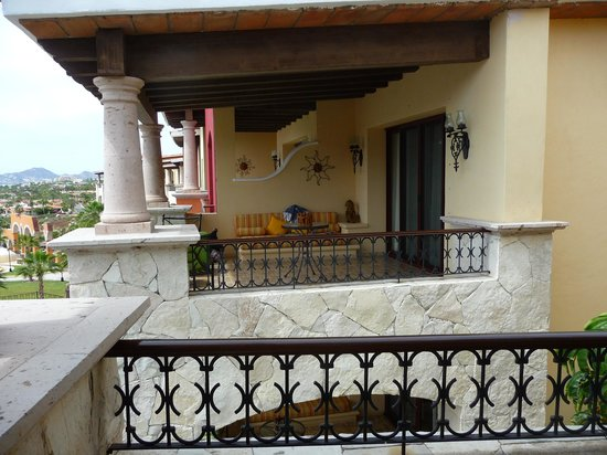 Hacienda Encantada Resort & Spa:                   The Balcony