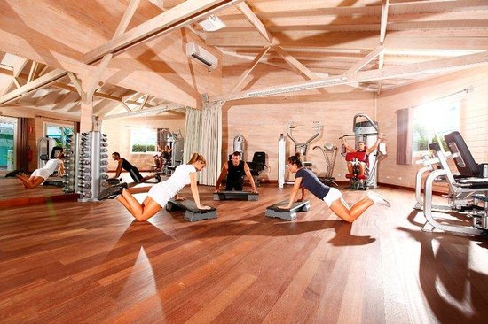 Le Domaine Beach Resort & Spa: Fitness Center