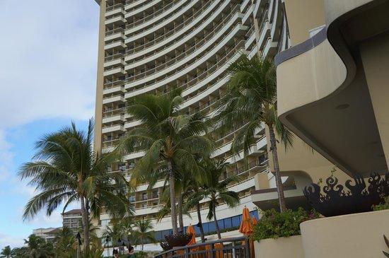 Sheraton Waikiki:                   外観