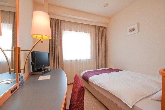 Aomori Washington Hotel : Single Room