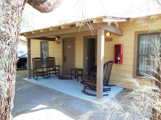 Furnace Creek Inn and Ranch Resort: Le casette con due camere