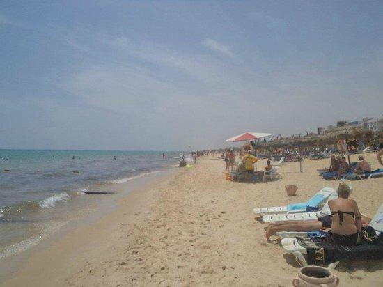 El Mouradi Hammamet:                   beach...