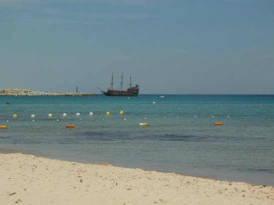 El Mouradi Hammamet:                   beach