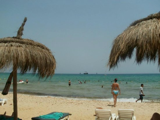 El Mouradi Hammamet:                   beach afternoon