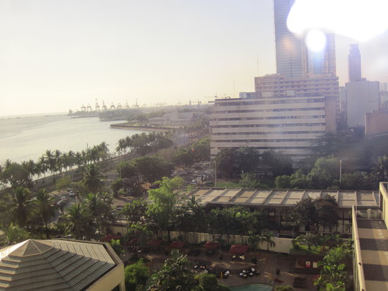 Diamond Hotel Philippines:                                     The outside view