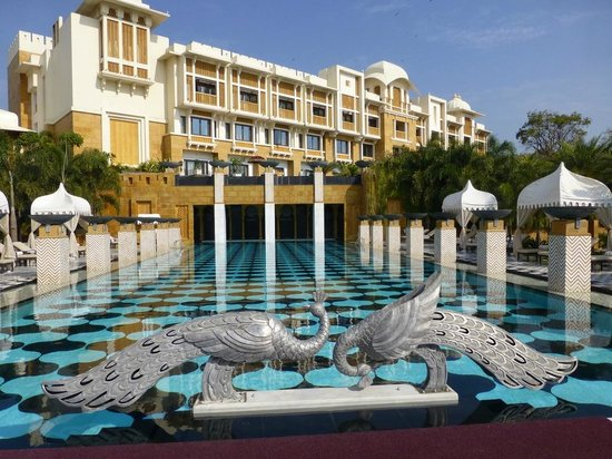 Pool Picture Of The Leela Palace Udaipur Udaipur Tripadvisor