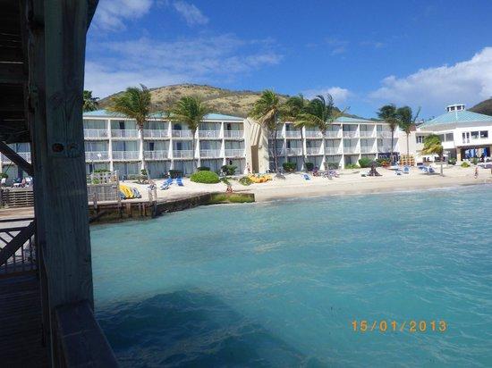 Divi Carina Bay All Inclusive Beach Resort:                   Alle værelser har havudsigt