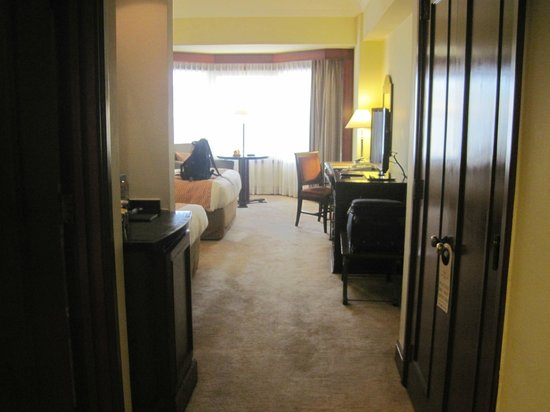 Diamond Hotel Philippines:                                     The entrance