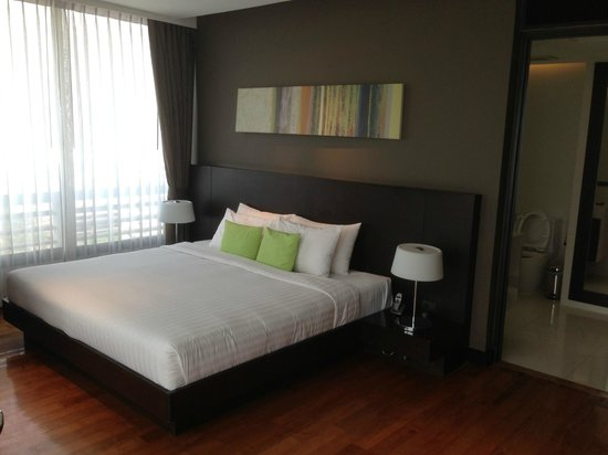 Fraser Suites Sukhumvit:                   Bedroom