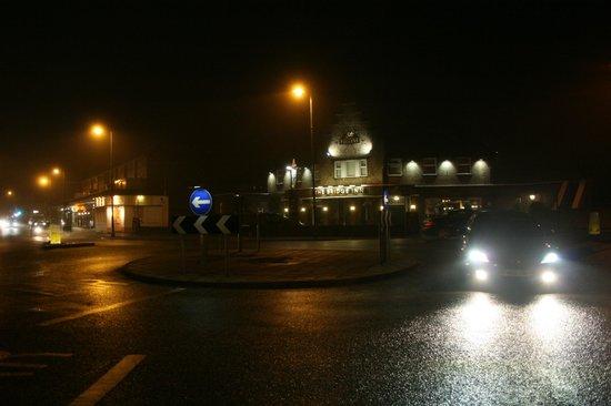 The Bridge Inn Shoreham:                   From the road...