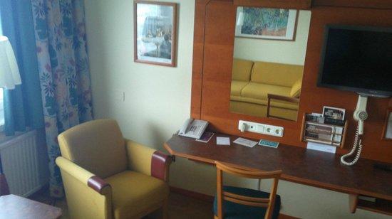 Scandic Sodertalje:                   room view 2