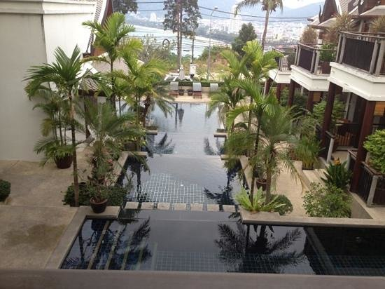 Baan Yin Dee Boutique Resort:                   the view from room 311