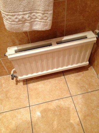 Hotel Rocroy:                                     Een verwarming die niet werkt