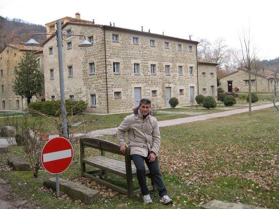 Borgo Le Terre Del Verde:                   la badiola alle mie spalle