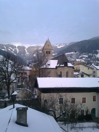 Hotel Seehof:                   The view from my room.