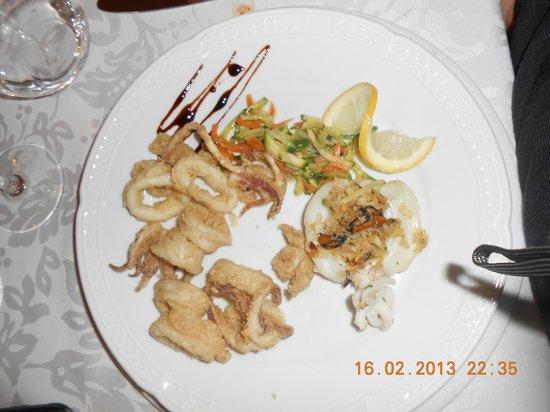 Park Hotel L'Incanto:                   Una buonissima frittura