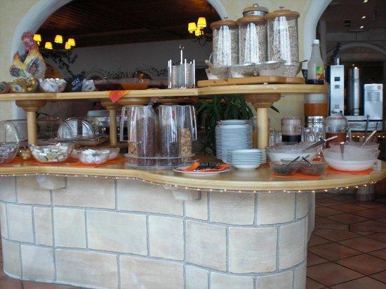 Snow White:                   Frühstücksbuffet