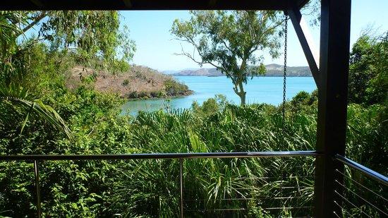 Qualia Resort:                   Balcony View