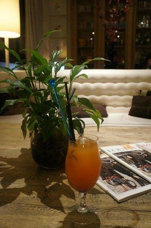 Hotel Pulitzer Roma: l'apéro dans le salon lounge