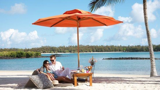 Constance Le Prince Maurice: Beach Lunch
