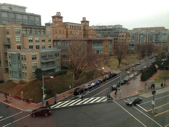Avenue Suites Georgetown:                                     view from my room