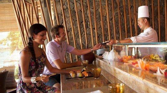 Constance Le Prince Maurice: Restaurant Asian Corner