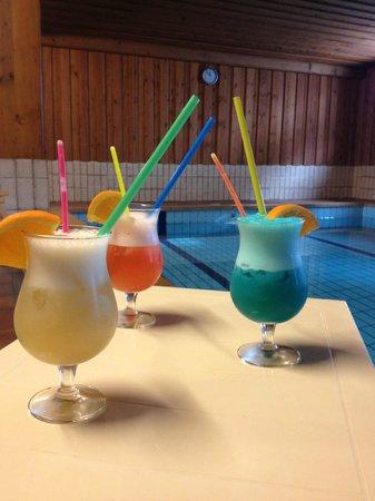 Logis Domaine Langmatt : Trois cocktails au bord de l'eau...