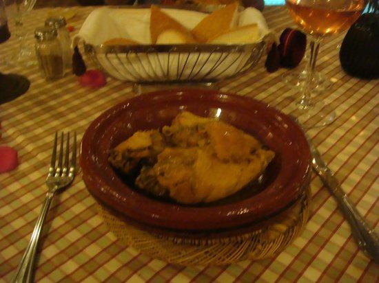 Riad Zayane:                   Dinner in Riad