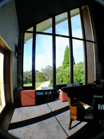 Fairmont Resort Blue Mountains - MGallery Collection :                   Picture windows at Embers Bar