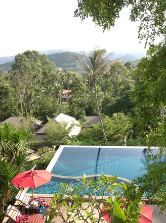 Kirikayan Luxury Pool Villas & Spa:                   View from my front room