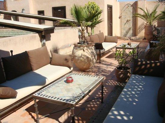 Riad Zayane:                   Terrace
