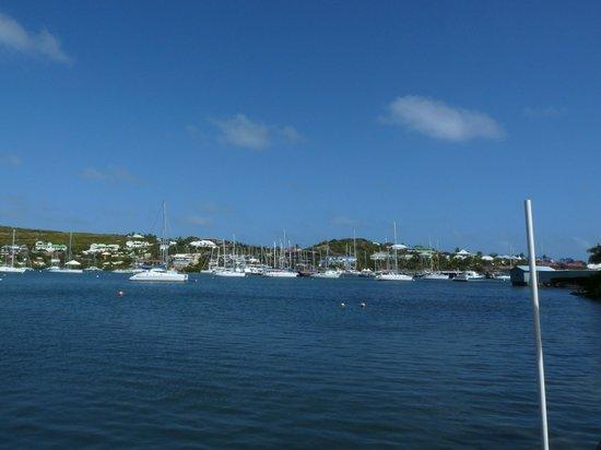Oyster Pond :                   marina