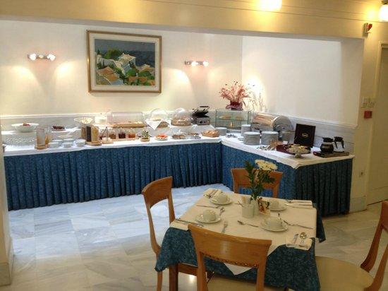 Avra City Hotel:                   Buffet colazione