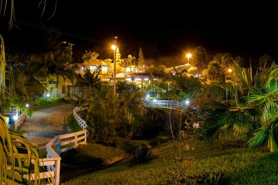Socorro, SP: Vista noturna