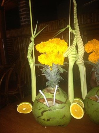 Gosha Bar & Restaurant:                                     pina colada- tasty :) food also tasty- we recomend