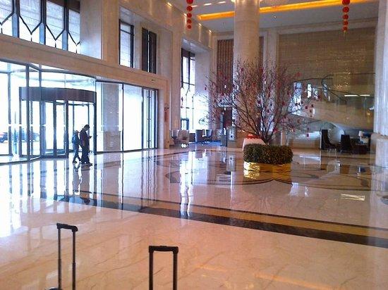 Hilton Guangzhou Baiyun Hotel:                                     lobby