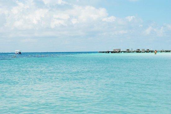 Playa Norte:                   beach view