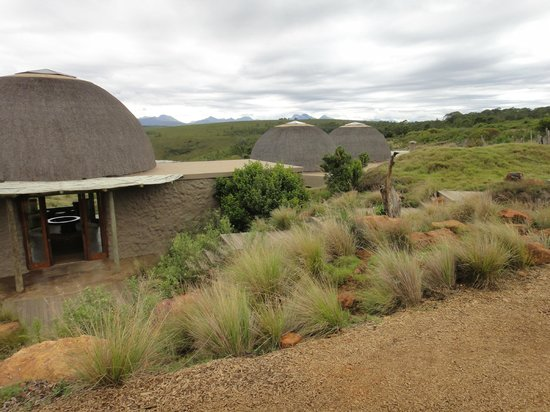 Gondwana Game Reserve:                   Our 'hut'