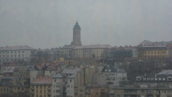 Mercure Budapest Buda: view from the room