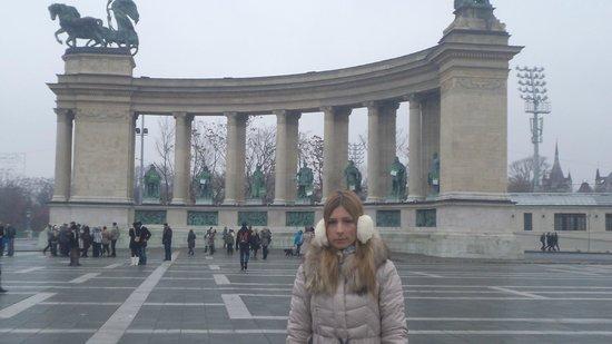 Mercure Budapest Buda: hosok tere - heroe's square